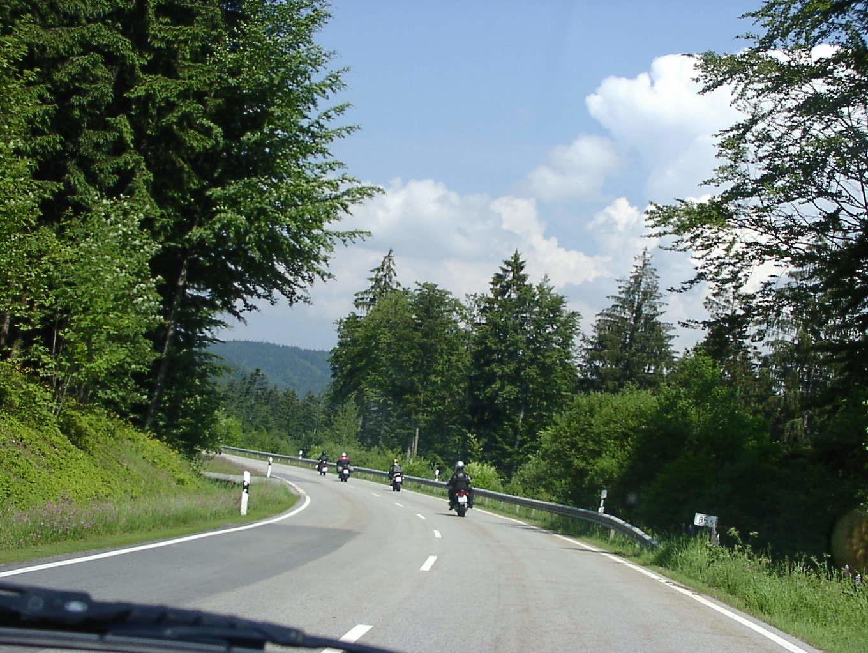 Motorrad fahren Bad Harzburg Motorradtouren Harz